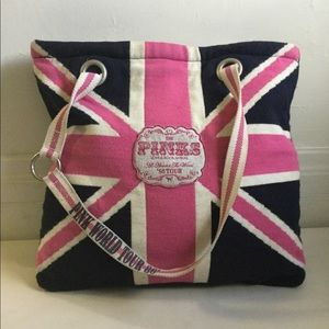 PINK Victoria's Secret WORLD TOUR 86 UK Tote BAG